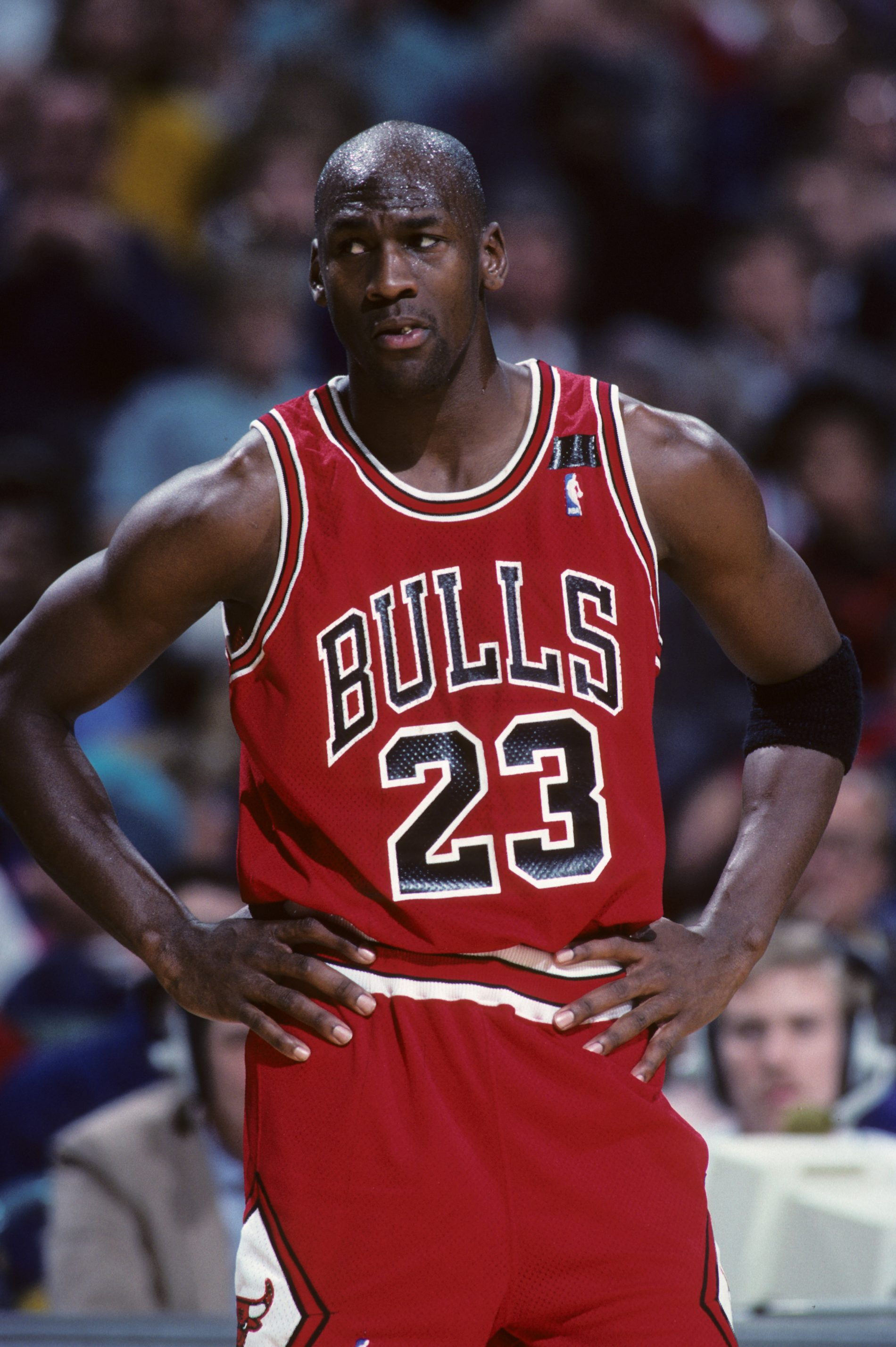 Michael Jordan Hall of Fame player for the Chicago Bulls