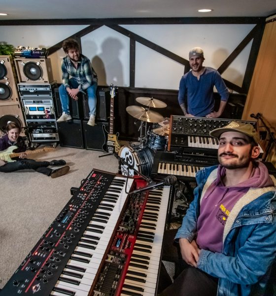 """Blue Light Bandits Share Their Love For Music With Friends and Fans In """"After Rain"""""""