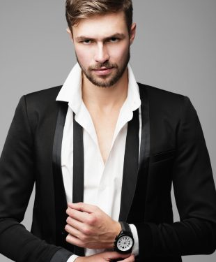 fashion man in suit