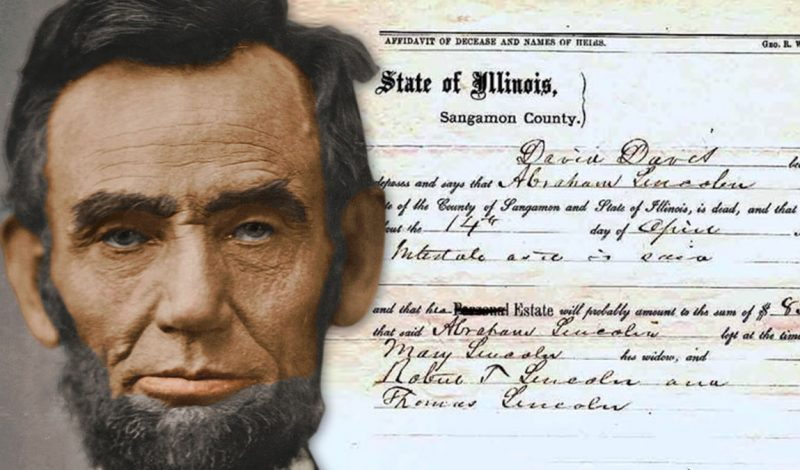 Abraham Lincoln's Death Certificate Going Up For Sale